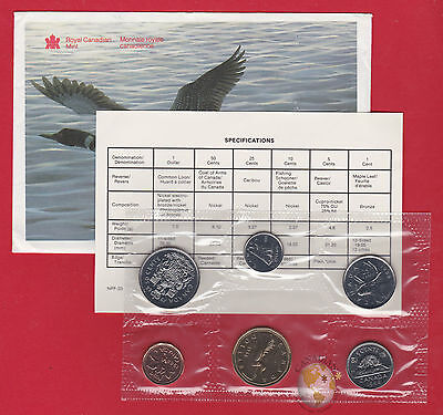1988 - - Pl Set -  - Canada RCM Proof Like Mint - With COA and Envelope
