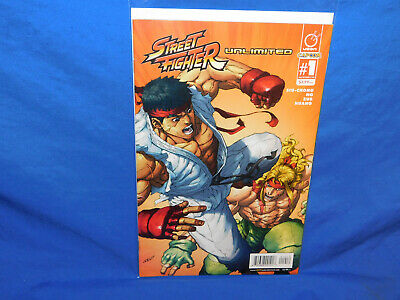 Street Fighter Unlimited #1 BLANK VARIANT RARE Great for Sketches 9.6 9.8