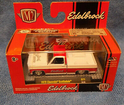 M2 Machines 1979 Chevy Truck O'Reillys Edelbrock Scottsdale Special Edition New