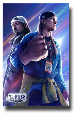 """Jay and Silent Bob Reboot Movie Poster - 11""""x17"""" Fist SameDay Ship from USA"""