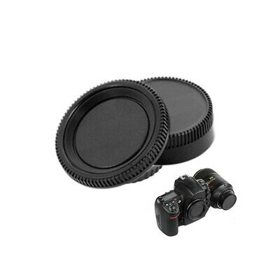Stylish Body Front + Rear Lens Caps Cover For Nikon AF AF-S Lens DSLR SLR Camera