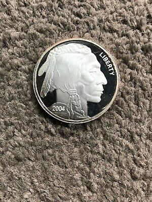 Silver Bullion 1oz Buffalo Liberty Indian Head  999 Coin