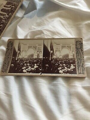 George Rose Stereoscopic  Views Post Card Commonwealth Celebrations Collectable