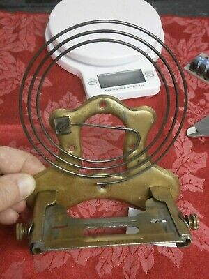 Wall CLOCK MOVEMENT BRACKET / Stand, Gong & Bolts parts Vienna cabinet case 345A