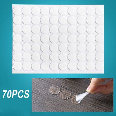 70PCS Super Strong Double Sided Adhesive Tape Pads Mounting Round 2019