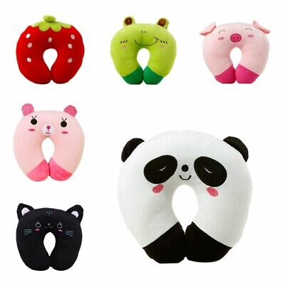 Travel Adult Neck Car Pillow for Child Toddler Airplane Cars U Shaped Cushion US