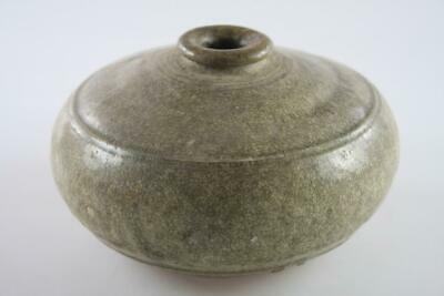 Antique Khmer Cambodia Ceramic Pot Circa 13-15Th Century