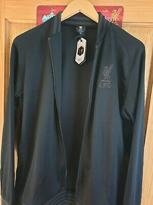 LFC Blackout Shankly Jacket Limited Edition Liverpool FC YNWA UK Large New Mens
