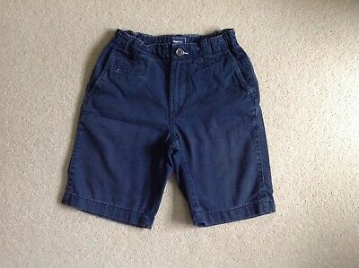 Gap Kids Boy's Chino Style Shorts Navy Blue  Size 8-9 Years In Great Condition