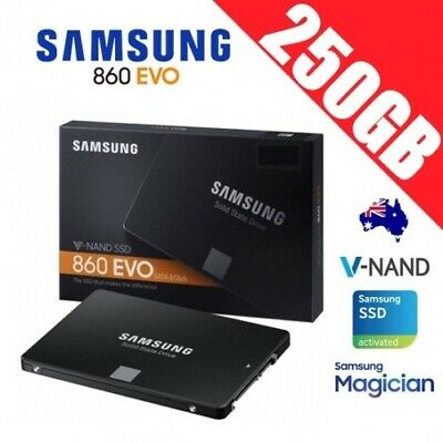"Samsung SSD 860 EVO 250GB 2.5"" Solid State Drive Disk PC Laptop Notebook Gamer"