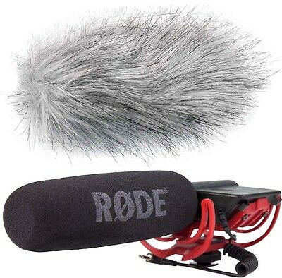 Rode Videomic Rycote Directional Microphone + Keepdrum Ws-Wh fur Windscreen