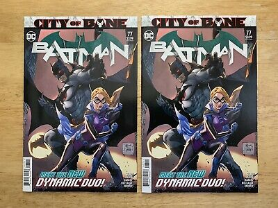 Batman #77 City of Bane tie-in Death of Alfred X2