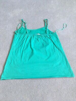 Girls New Look Generation 915 Green Top Age 12-13 Strappy