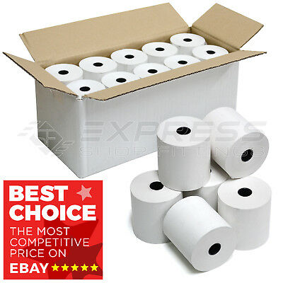 57mm x 57mm 57 x 57 mm Thermal Paper Cash Register Till Printer Receipt Rolls