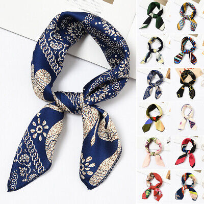 Women Scarf Ladies Scarf Hair Tie Band Decoration Vintage Elegant Small