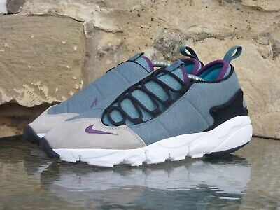 NIKE AIR FOOTSCAPE NM UK 9 US 10 New Blue Grey Purple max 95 PRM DS Woven