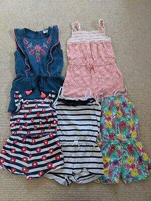 Girls Playsuit Romper Bundle Age 3-4 Years jumpsuit flowers
