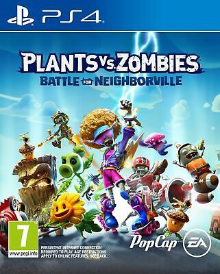 Plants vs. Zombies: Battle for Neighborville (PS4) New & Sealed Fast Free UK P&P