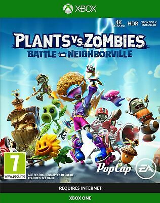 Plants vs. Zombies: Battle for Neighborville (Xbox One) New & Sealed Free UK P&P