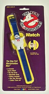 The Real Ghostbusters Stay Puft Marshmallow Man Wristwatch NOS