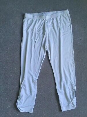 Ladies New Look White 3/4 Leggings Size 10 New Without Tags