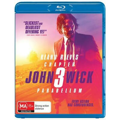 John Wick Chapter 3: Parabellum  -(Blu-Ray, 2019) NEW