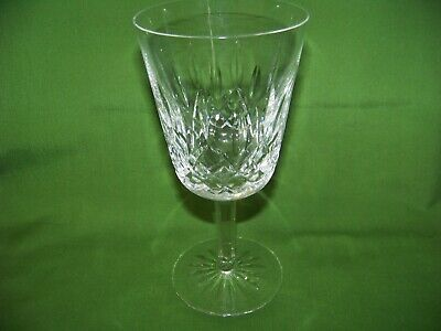 Waterford Crystal Lismore 7'' Water / Wine Goblets Signed