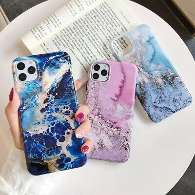 Shockproof Marble Soft Silicone Phone Case Cover For iPhone 11 Pro Max XS XR 7 8