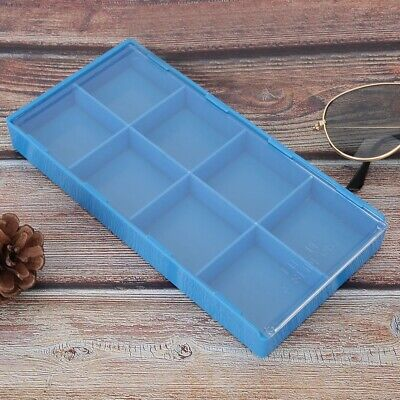 Plastic Watch Parts Storage Box Organizer Watchmaker Repairing Tool Storage Tray