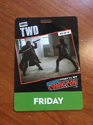 FRIDAY BADGE 2019 NEW YORK COMIC CON October 4th NYCC ticket pass oct 10/4 4 fri
