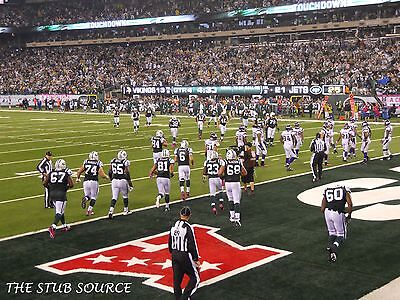 4 NY Giants vs New York Jets Tickets 11/10 2nd Row LOWERS Sec 129 Aisle MetLIfe