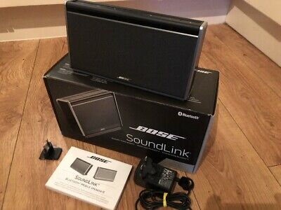 Bose Soundlink II Nylon Edition Boxed With Instructions And Power Supply SUPERB