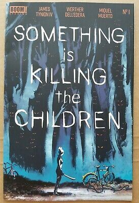 Something Is Killing The Children #1 BOOM! Studios Art and Cover by Werther Dell