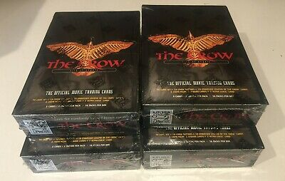 THE CROW City Of Angels Official Movie Trading Cards New Sealed 4 Boxes [Lot#61]