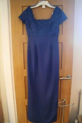 Forever Yours Evening/Bridesmaid Dress: Size 12