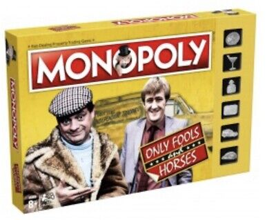 Only Fools and Horses Monopoly 2019 Edition Plus Top Trumps Cards