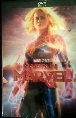 Brand new Captain Marvel (DVD, 2019). Latest addition to MCU. DVD only.