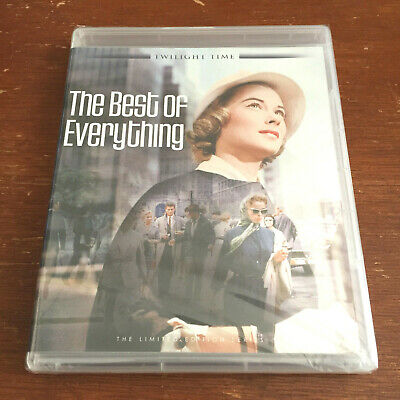 THE BEST OF EVERYTHING (Blu-Ray) Twilight Time, Hope Lange, New York City - NEW!