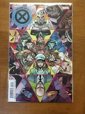 House Of X #2 Main Cover First Print Hickman Marvel Comics