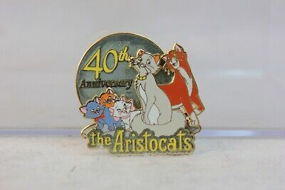 Disney Parks LE 1500 Pin The Aristocats 40th Anniversary Marie Toulouse Berlioz