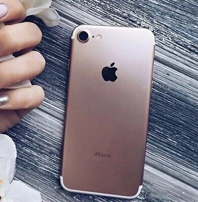 Apple iPhone 7 - 32GB - Rose Gold - (Unlocked) - Excellent Condition