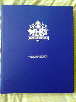 Doctor Who Series 1 Official Empty Binder Cornerstone - 1994 ***** RARE *****
