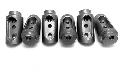 """Honda Talon Bungs Roll Cage Connectors Adapters 4 Seat 1 3/4"""" .095 &.120 wall"""