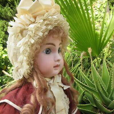 "22"" Bebe Steiner Figure A 15 . antique french bisque head doll . 56 cm"
