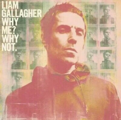 Liam Gallagher - Why Me? Why Not - Vinyl Picture Disc Lp. Ultra Limited. Sealed.