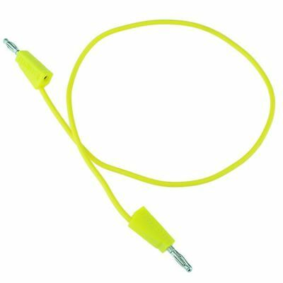 Yellow 4mm Stackable Test Lead 500mm