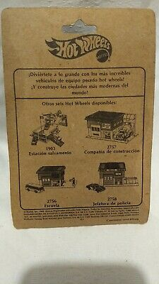 Vintage hot wheels equipo pesado fire Eater mexican card aurimat rare
