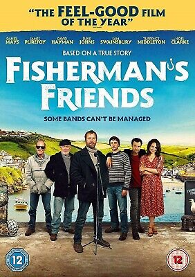 Fisherman's Friends Featuring Daniel Mays DVD 2019**Same Day Fast Dispatch**
