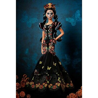 Barbie Dia De Los Muertos Doll 2019 Day of The Dead Barbie - IN HAND