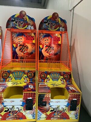 Slam and jam arcade coin operated basket ball machine